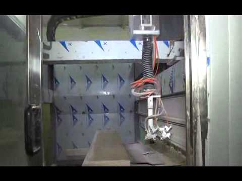 5 axis auto spray painting machine