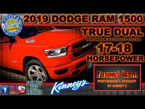 2019 dodge ram 1500 true dual exhaust tunnel ram by kinney s