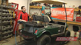 Golf cart king ezgo txt rear flip back seat kit installation video 1137 sciox Images