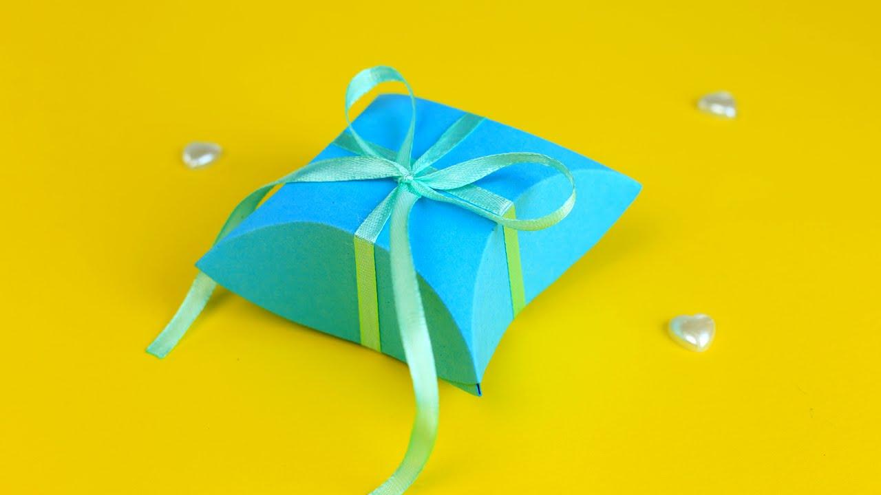 Подарочная коробочка в стиле Тиффани своими руками - YouTube