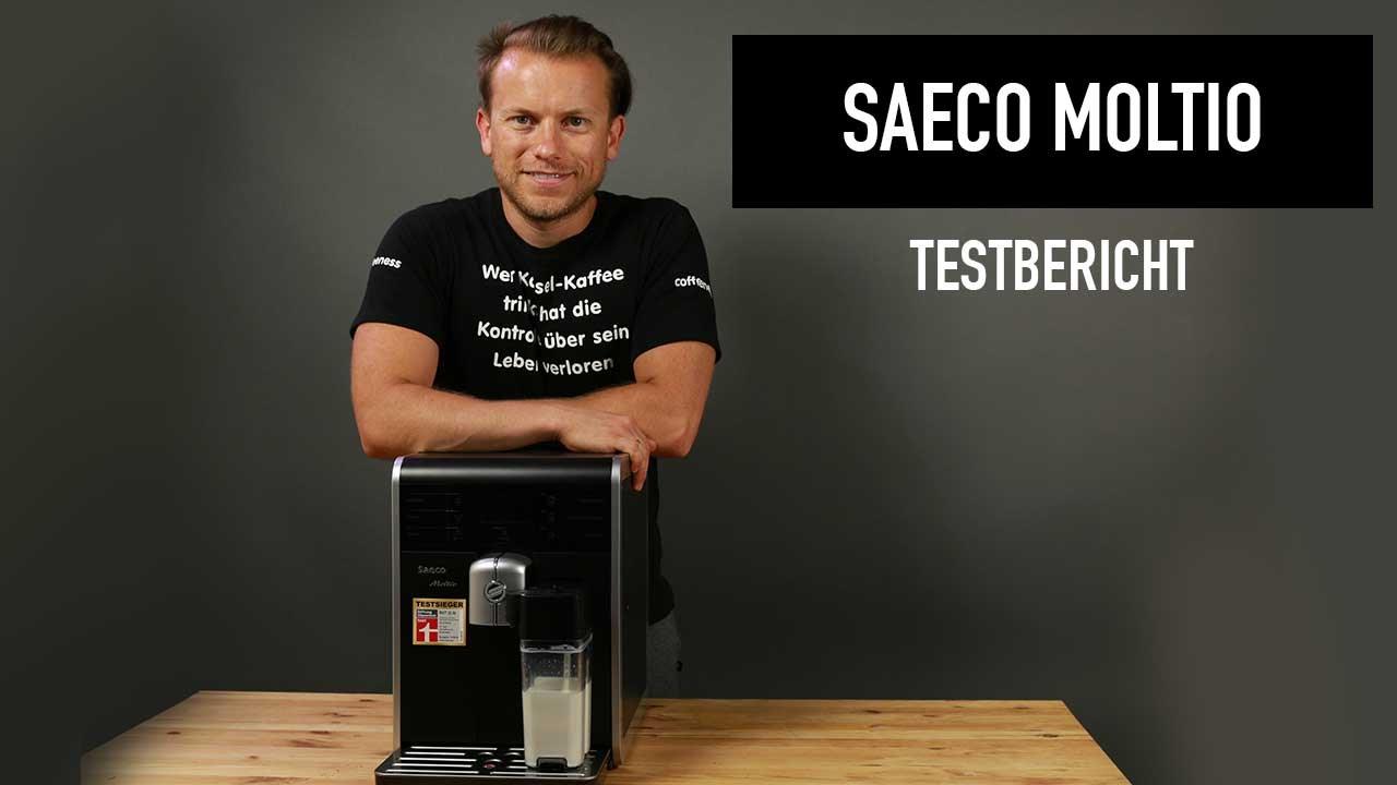 saeco moltio kaffeevollautomat testbericht kann der gewinner von stiftung warentest berzeugen. Black Bedroom Furniture Sets. Home Design Ideas