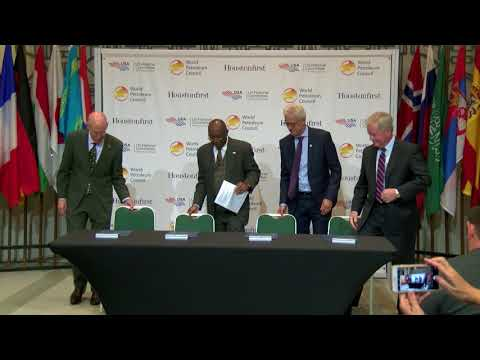 Mayor Turner Welcomes World Petroleum Council  12/13/2017