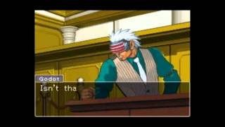 Repeat youtube video Phoenix Wright : Godot Cornered