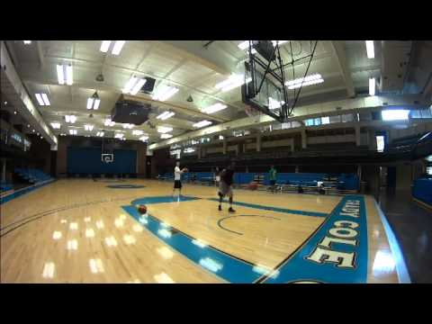 Guard Group Basketball Workout- College and Overseas Pro's