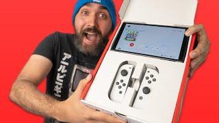 Nintendo Switch OLED Early Unboxing