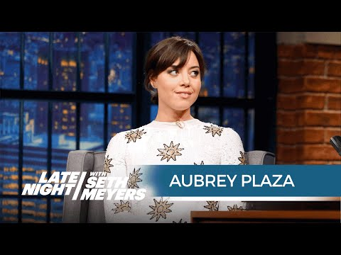 Aubrey Plaza Got Very Drunk and Sang Karaoke at the Mike and Dave Need Wedding Dates Wrap Party