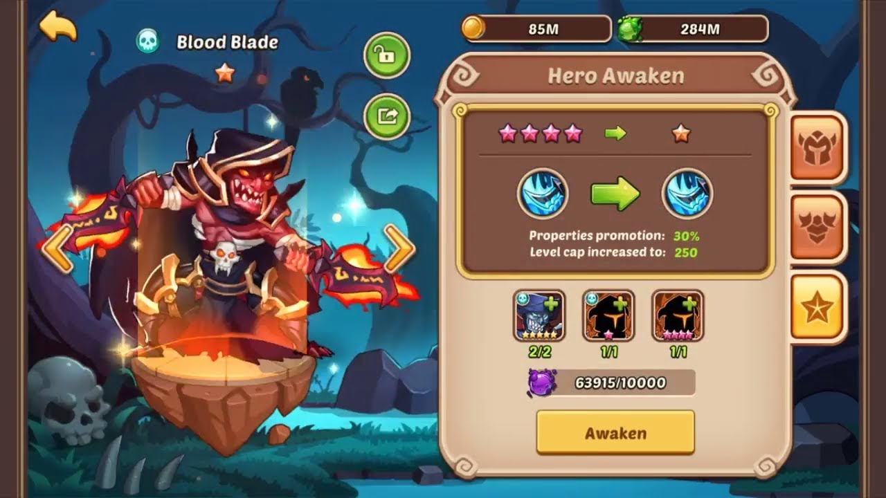 idle heroes super casino rewards