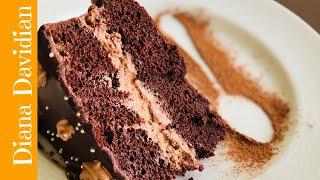 Tούρτα σοκολάτα πολύ νόστιμη | Chocolate cake very delicious