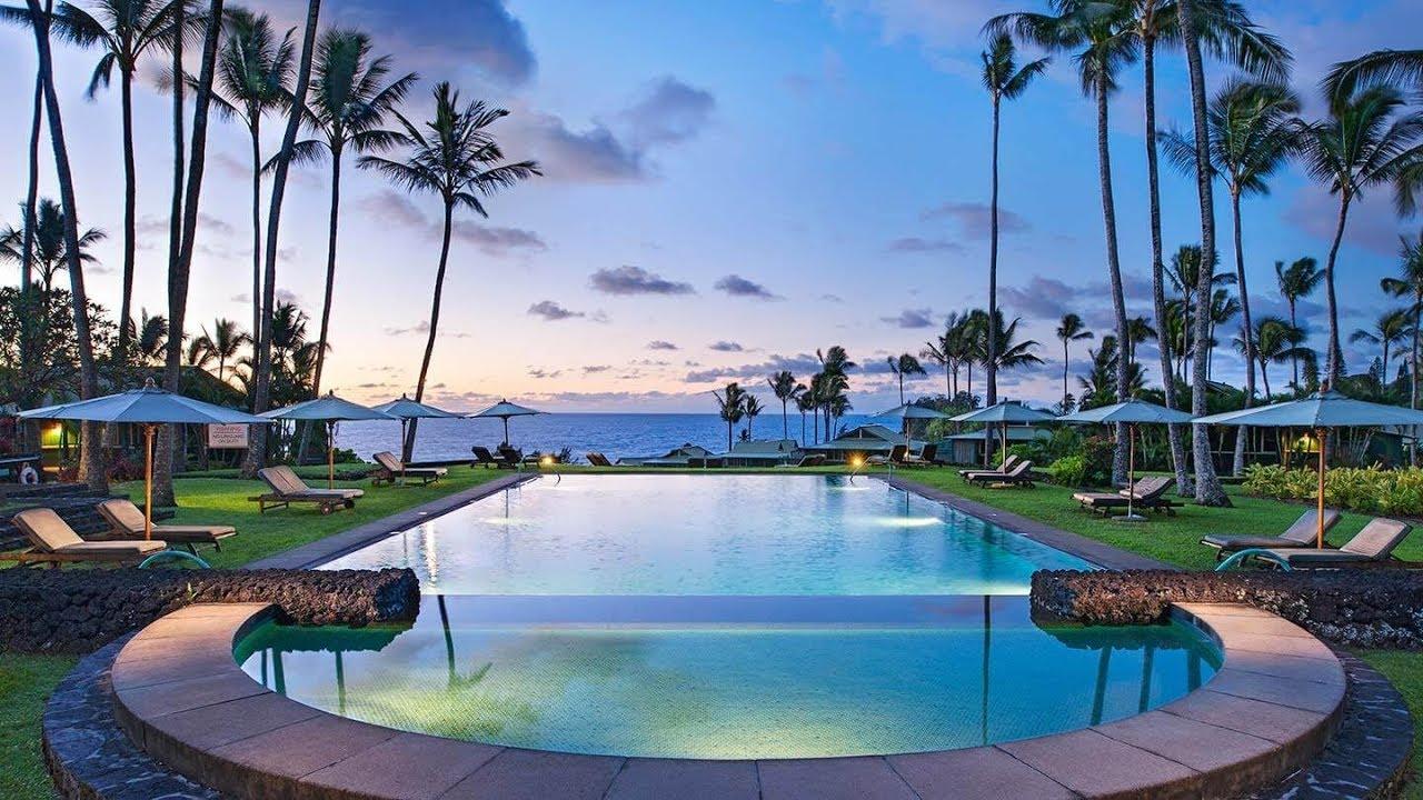 Travaasa Hana Resort Maui Hawaii