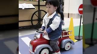 오버유캔212 아동 패딩 청조끼