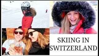 Skiing in Switzerland - SKIING IN SWITZERLAND | Niomi Smart VLOG