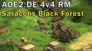 Age of Empires 2: Definitive Edition - 4v4 RM Saracens Coastal - eartahhj - 17/11/2019