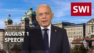 Swiss president expresses gratitude to Swiss Abroad