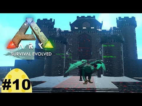 Ark Survival Evolved, Episode 10: Let's get building with the castles and keeps Mod.
