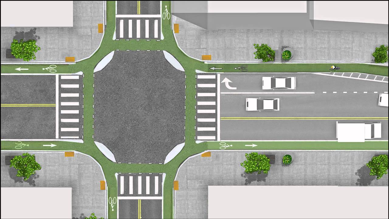 bike lane proposal Sidewalks, intersections, and bike lanes north sidewalks will be widened to 3 m boulevards  the proposal (1 mb) point grey road - cornwall (routes no longer.