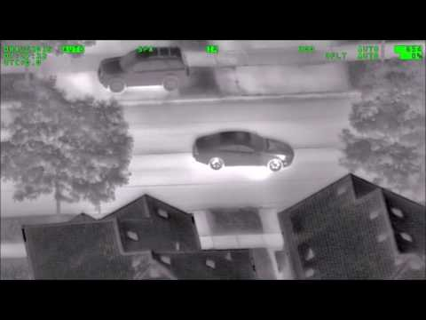 2016 08 09 DRIVER OUT CATCHING POKEMON DRAWS ATTENTION FROM POLICE HELICOPTER
