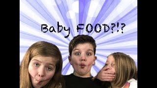 Baby Food Taste Test Challenge!!!