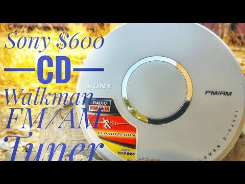 Sony $600 FM/AM Portable CD Player Detailed Review+User Guide Explained