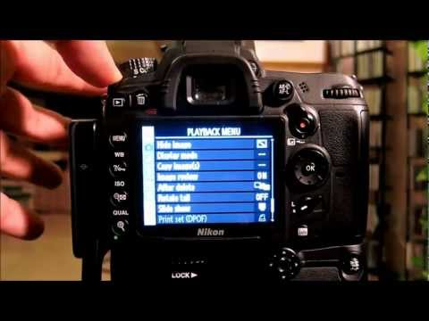 Nikon D7000 Tutorial: All Settings, Menus, Functions by Carl