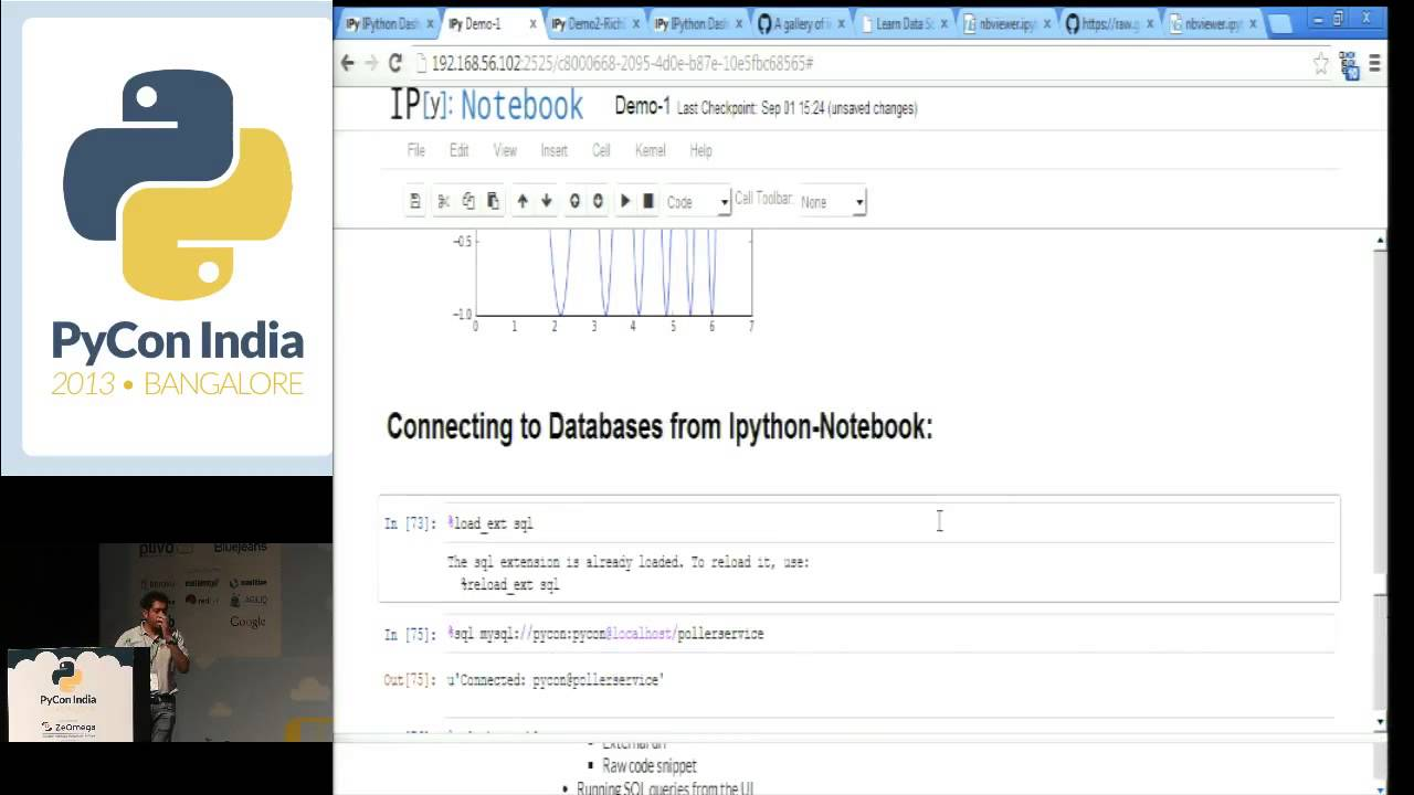 Image from Making python Interactive and fun using IPython notebook