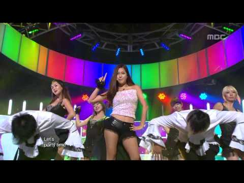 SolB(feat. Hee-yeon) - Ottogi, 솔비(feat.희연) - 오뚜기, Music Core 20120825