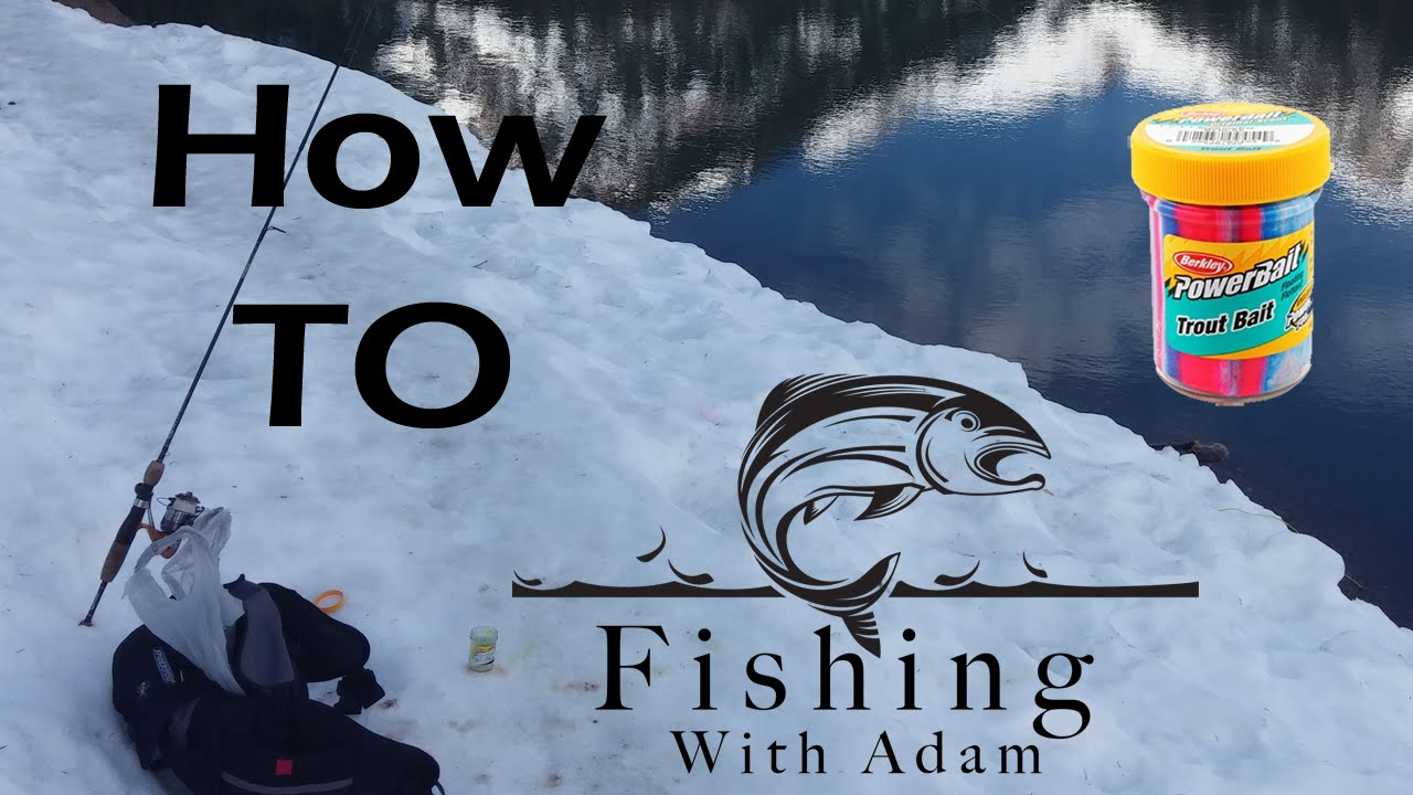 Insanely fast and easy trout fishing with powerbait for Fishing with powerbait