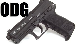 kwa usp compact removing sights changing nozzle return springs