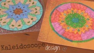 DIY: Kaleidoscope Design / Drawing | CRAFTY FRIDAY DIYS! by SoCraftastic