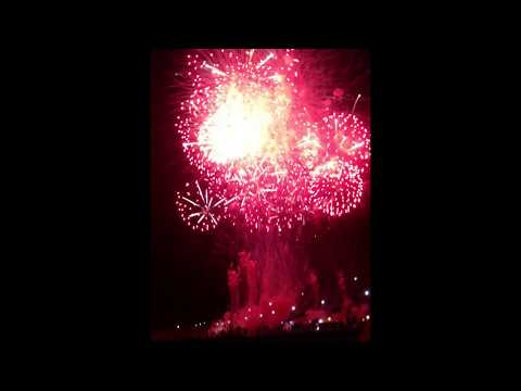 2013 South East Asian Games Opening Ceremony Fireworks