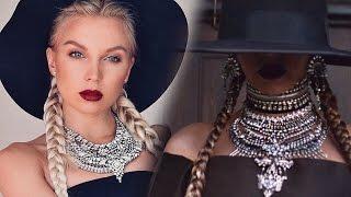 МАКИЯЖ БЕЙОНСЕ / Beyonce Formation Makeup