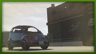 GTA 5 Funny Moments - BEST Stunt Car Ever! - Challenges with Hazardous - ( GTA V Stunts & Fails )