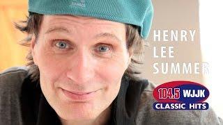 Henry Lee Summer visits the WJJK Acoustic Lounge