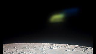 UFO Over Moon Watching Apollo 12, NASA Source, UFO Sighting News.