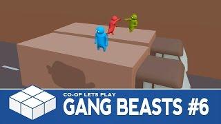 gang beasts 6 endless mode 3 player co op gameplay