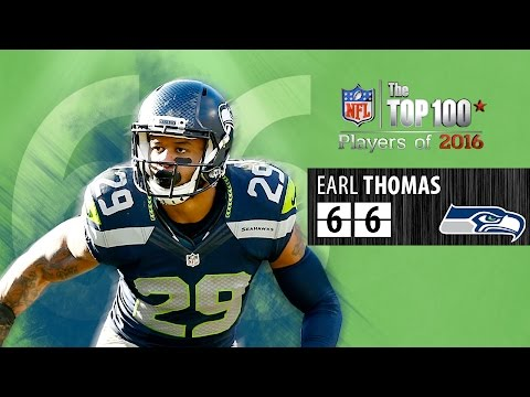 #66: Earl Thomas (S, Seahawks) | Top 100 NFL Players of 2016