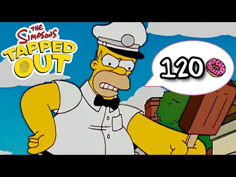 TSTO - Ice Cream Man Homer - 120 Donuts (Limited Time)