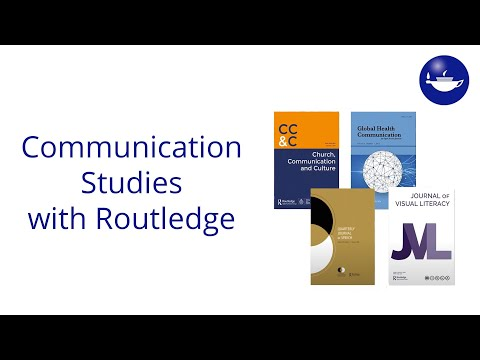 Expand your research with communication studies journals from Routledge