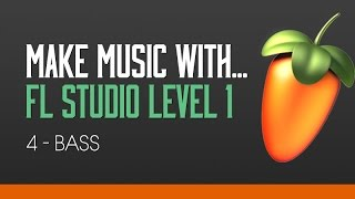 FL Studio 11 Beginners Level 1 Tutorial 4 - Creating a Bassline