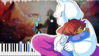 Undertale // Respite | LyricWulf Piano Tutorial on Synthesia // OST 94