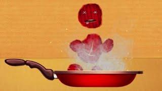 FUN CRAZY FOODS vs The Buddy | Kick The Buddy