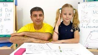 ستايسي وأبي يوضحان مدى أهمية الدراسة جيدًا في المدرسة