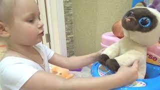 Кошка Алисы ! Как играть и ухаживать за питомцем