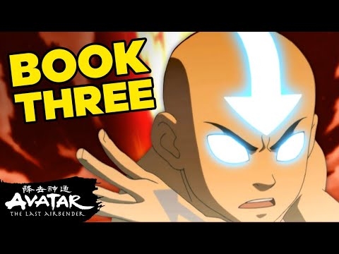Aang's Journey In Book 3 - Fire 🌋| Avatar
