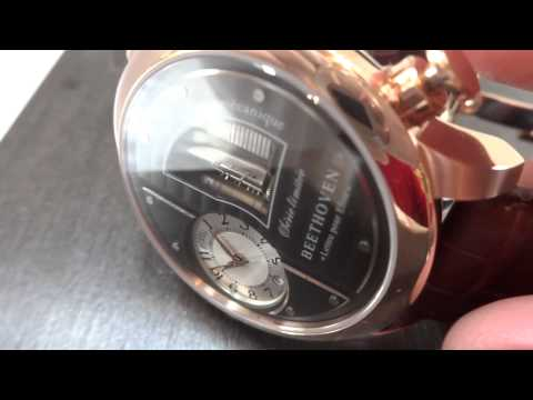Reuge Boegli musical wrist watch, Beethoven