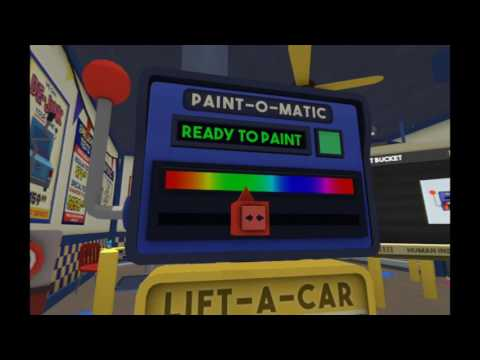 PSVR – Job Simulator Auto Mechanic part 1