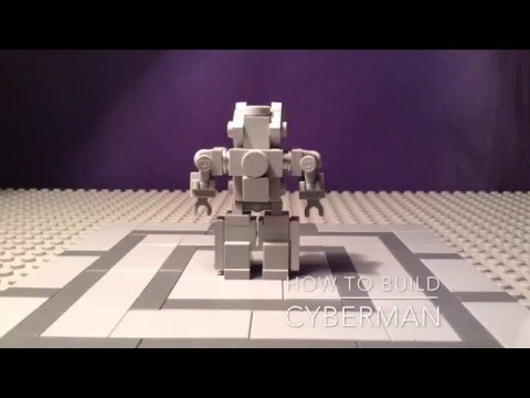 Lego Doctor Who How To Build 9: Cyberman