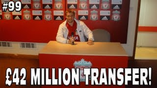 FIFA 15 MY PLAYER - INSANE £42 MILLION TRANSFER! RODGERS IS DRUNK! #99 Career Mode