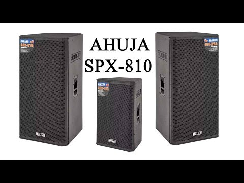 Ahuja speakers.New SPX series launch.