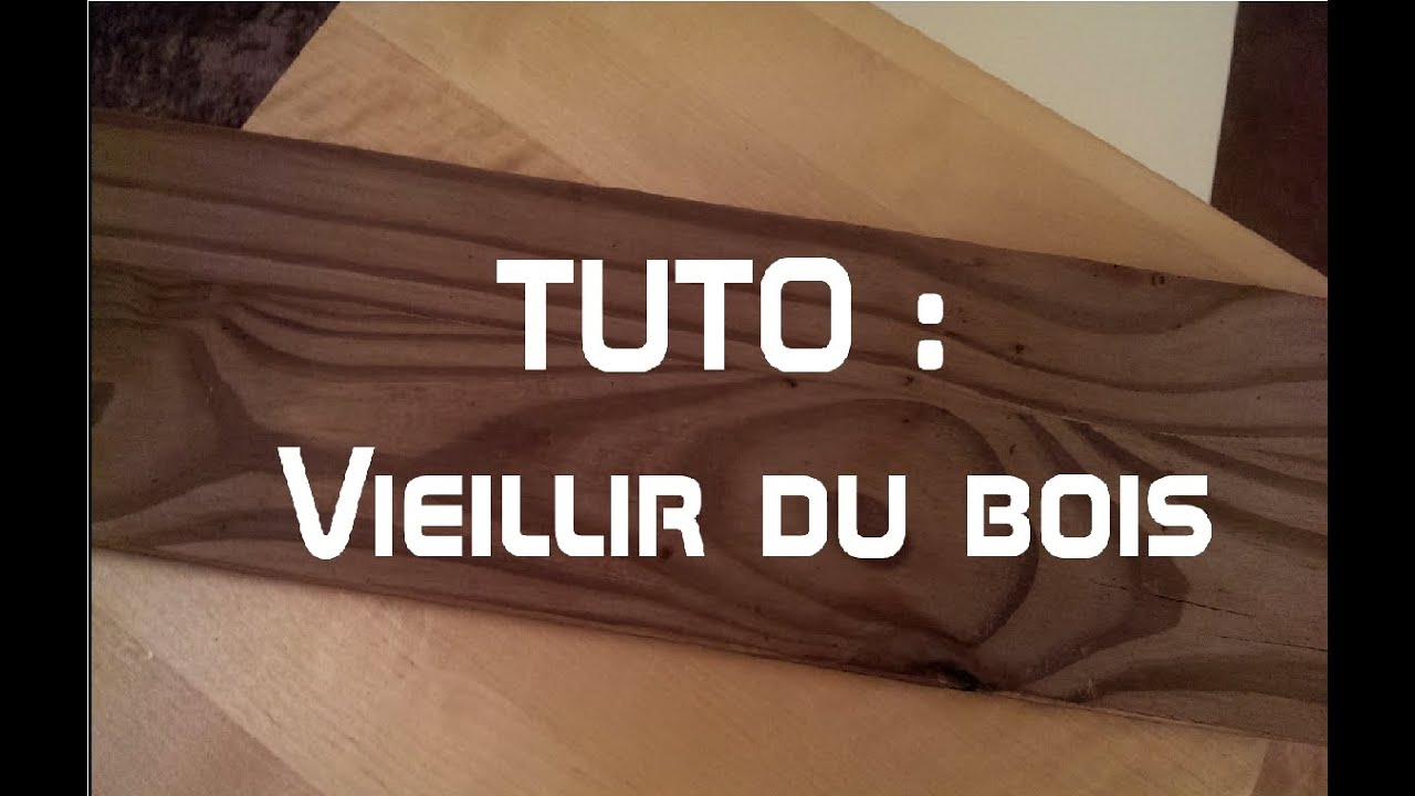 Diy comment vieillir du bois en 2 min youtube for Vieillir un meuble en pin
