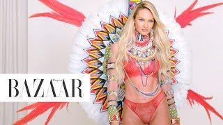 Supermodel Candice Swanepoel Returns to the Victoria's Secret Fashion Show   Harper's BAZAAR